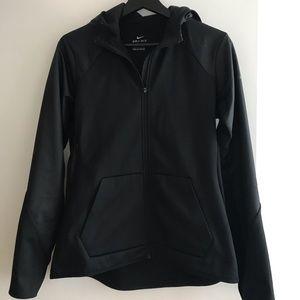 Nike fleece-lined sports jacket